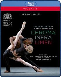 CHROMA/INFRA/LIMEN, MCGREGOR, WAYNE, CAPPS/WORDSWORTH THE ROYAL BALLET/CAPPS/WORDSWORTH Blu-Ray, W. MCGREGOR, Blu-Ray