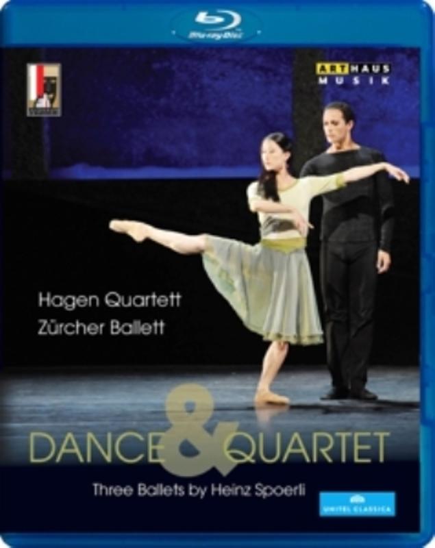 DANCE & QUARTET SALZBURG FESTIVAL 2012 V/A, BLURAY