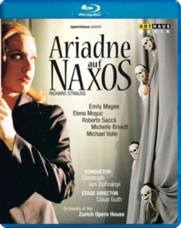 ARIADNE AUF NAXOS ZURICH 2006 R. STRAUSS, BLURAY