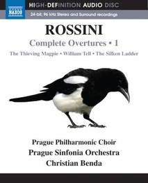 Christian / Prague Phil & Si Benda - Rossini Complete Overtures  Volume 1, (Blu-Ray) PRAGUE PHIL.CHOIR & ORCHESTRA/BENDA//*BLU R G. ROSSINI, Blu-Ray