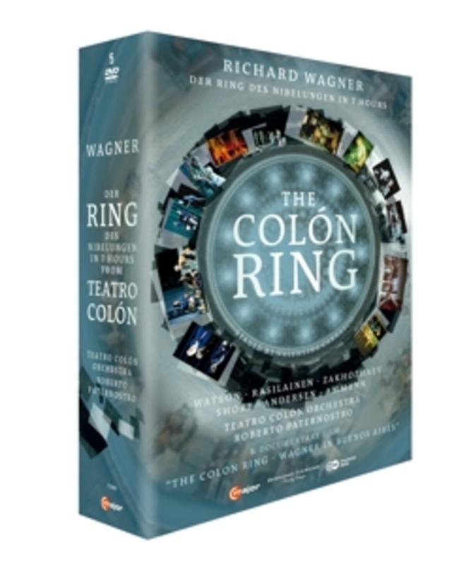 Watson,Rasilainen,Zakhozhaev - Der Ring Des Nibelungen In 7 Uur, B, (DVD) BUENOS AIRES 2012/ROBERTO PATERNOSTRO R. WAGNER, DVDNL