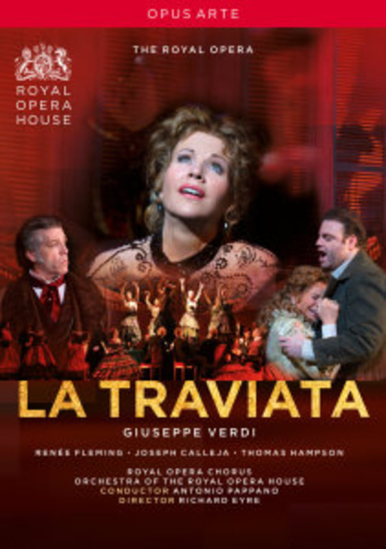 Fleming/Botha/Hampson/The Royal Ope - La Traviata, (DVD) ROYAL OPERA HOUSE COVENT GARDEN // NTSC/ALL REGIONS G. VERDI, DVDNL
