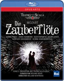 Groisscock/Pirgu/Teatro Alla Scala - Die Zauberflote, (Blu-Ray) TEATRO ALLA SCALA/R.BOER W.A. MOZART, Blu-Ray