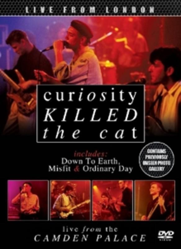 LIVE FROM LONDON -DIGI- CURIOSITY KILLED THE CAT, DVD