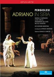 Comparato/Cirillo/Accadelia Bizanti - Adriano In Siria, (DVD) O.DANTONE // NTSC/ALL REGIONS G.B. PERGOLESI, DVDNL