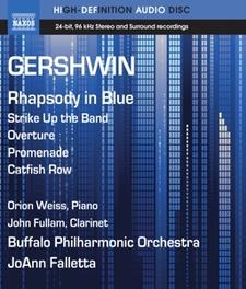 Weiss, Orion / John Fullam, Ao - Gershwin Rhapsody In Blue, (Blu-Ray) ORION WEISS/JOHN FULHAM G. GERSHWIN, Blu-Ray