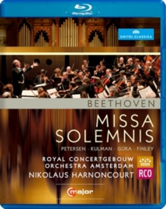 Petersen,Kulman,Gura - Missa Solemnis, Amsterdam 2012, (Blu-Ray) AMSTERDAM 2012 L. VAN BEETHOVEN, Blu-Ray