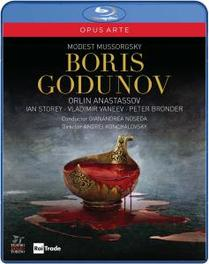 BORIS GODUNOV, MUSSORGSKY, MODEST, NOSEDA, G. G.NOSEDA/ANASTASSOV/MARIANELLI M. MUSSORGSKY, BLURAY