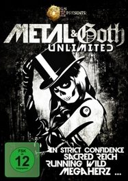 METAL & GOTH UNLIMITED V/A, DVD