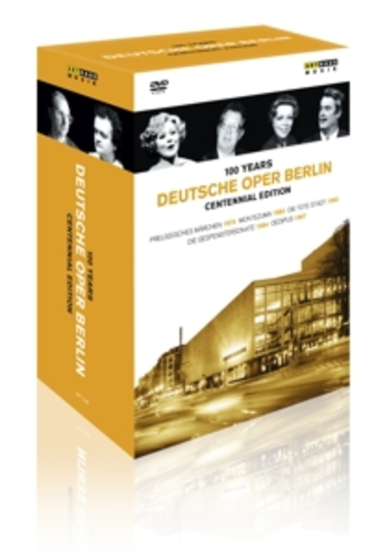 Otto,Sardi,Papadjiakou - 100 Jaar Deutsche Oper Berlin, (DVD) 1912-2012 V/A, DVDNL