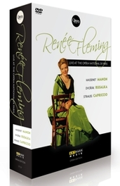 Alvarez,Von Otter, Diadkova - Renee Fleming, Live At The Opera Na, (Blu-Ray) .. NATIONAL DE PARIS/NTSC/ALL REGIONS Massenet: Manon // Dvorák : Rusalka // Strauss: Capriccio, RENEE FLEMING, DVD