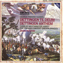 DETTINGEN ANTHEM ENGLISH WESTMINSTER/EC/PRESTON Audio CD, G.F. HANDEL, CD