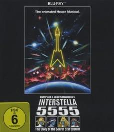 INTERSTELLAR 5555 (BLU RAY) DVD, DAFT PUNK, Blu-Ray