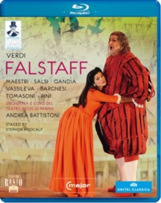 FALSTAFF PARMA 2011 G. VERDI, BLURAY