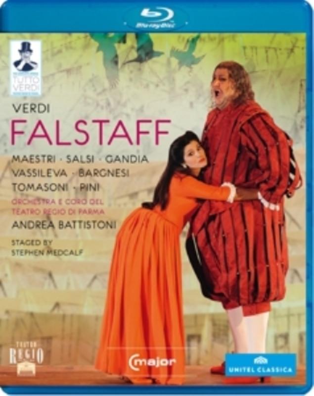 FALSTAFF PARMA 2011 G. VERDI, Blu-Ray
