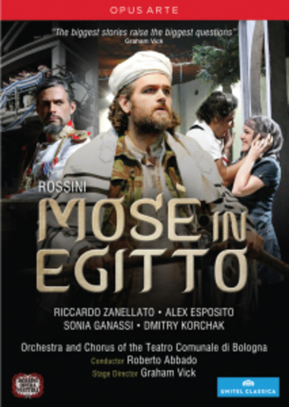 MOSE IN EGITTO ESPOSITO/SENDESRSKAYA G. ROSSINI, DVDNL