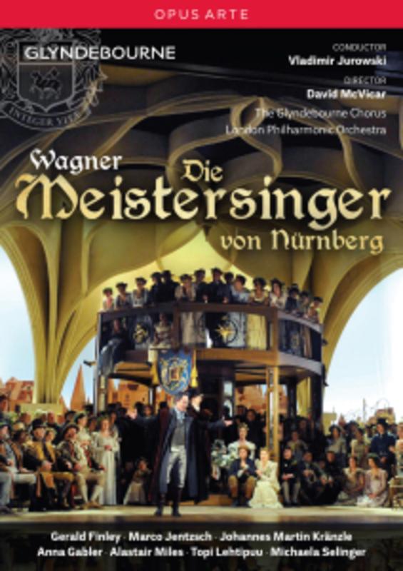 DIE MEISTERSINGER LONDON PHILHARMONIC ORCHESTRA/FINLEY/JUROWSKI... R. WAGNER, DVD