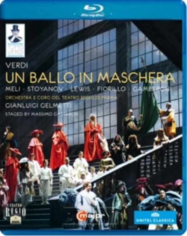 Meli,Stoyanov,Lewis,Fiorillo - Un Ballo In Mascherra, Parma 2011,, (Blu-Ray) PARMA 2011 G. VERDI, Blu-Ray