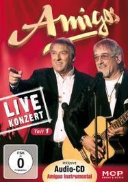 LIVE-KONZERT-TEIL 1 AMIGOS, DVD
