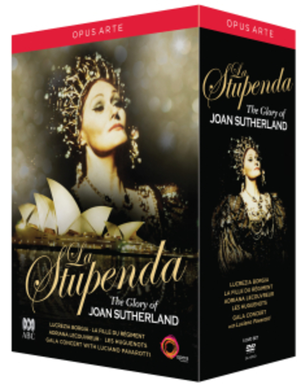 JOAN SUTHERLAND.. .. COLLECTION/NTSC/ALL REGIONS JOAN SUTHERLAND, DVDNL