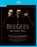 Bee Gees - One Night Only, (Blu-Ray) FT. LIVE PERFORMANCES OF ALL THEIR GREATEST HITS
