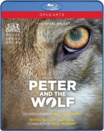Polunin/Kemp/Royal Ballet Sinfonia - Peter And The Wolf, (Blu-Ray) ROYAL BALLET SINFONIA/P.MURPHY S. PROKOFIEV, Blu-Ray