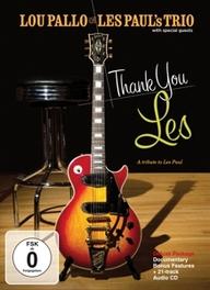 Lou Pallo - Thank You Les - A Tribute To Les Paul, (DVD) .. TRIBUTE TO LES PAUL // ALL REGIONS LOU PALLO, DVDNL