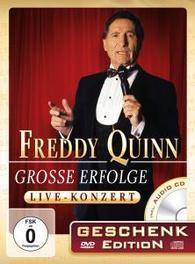GROSSE.. -DVD+CD- .. ERFOLGE-GESCHENKED. QUINN, FREDDY, DVD