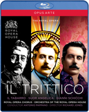 Gallo/Siurina/Demuro/Royal Opera Ho - Il Trittico, (Blu-Ray) ROYAL OPERA HOUSE COVENT GARDEN/PAPPANO