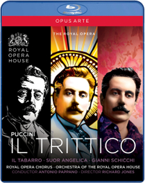 Gallo/Siurina/Demuro/Royal Opera Ho - Il Trittico, (Blu-Ray) ROYAL OPERA HOUSE COVENT GARDEN/PAPPANO G. PUCCINI, BLURAY