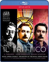 Gallo/Siurina/Demuro/Royal Opera Ho - Il Trittico, (Blu-Ray) ROYAL OPERA HOUSE COVENT GARDEN/PAPPANO G. PUCCINI, DVD