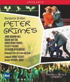 PETER GRIMES TEATRO ALLA SCALA ORCHESTRA B. BRITTEN, Blu-Ray