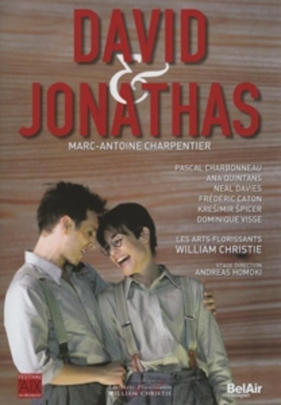 DAVID ET JONATHAS LES ARTS FLORISSANTS//WILLIAM CHRISTIE M.A. CHARPENTIER, DVD