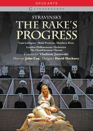 Persson/Lehtipuu/Bayley/Glyndebourn - The Rake's Progress, (DVD) GLYNDEBOURNE ORCH./V.JUROWSKI / NTSC/ALL REGIONS I. STRAVINSKY, DVDNL