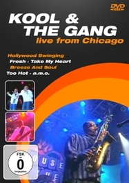 LIVE IN CHICAGO PAL KOOL & THE GANG, DVDNL