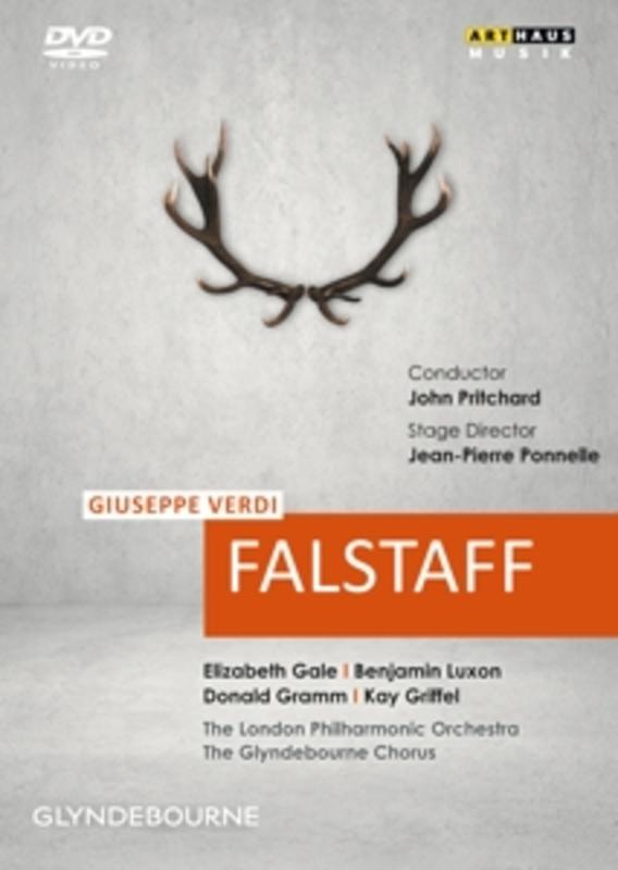 Gramm,Luxon,Griffel,Gale - Falstaff,Glyndebourne 1976, (DVD) GLYNDEBOURNE 1976 // NTSC/ALL REGIONS G. VERDI, DVDNL