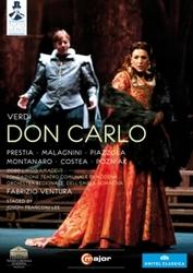 Prestia,Malagnini,Piazzola - Don Carlo, Modena 2012, (DVD) NTSC/ALL REGIONS/MODENA 2012/W/PRESTIA/MALAGNINI/PIAZZO