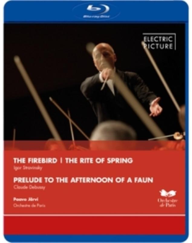 Orchestre De Paris - Orchestre De Paris, The Firebird,Th, (Blu-Ray) ORCHESTRE DE PARIS 2012 I. STRAVINSKY, BLURAY