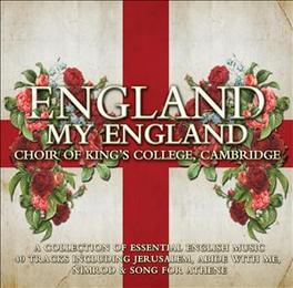 ENGLAND MY ENGLAND Audio CD, KING'S COLLEGE CHOIR CAMB, CD