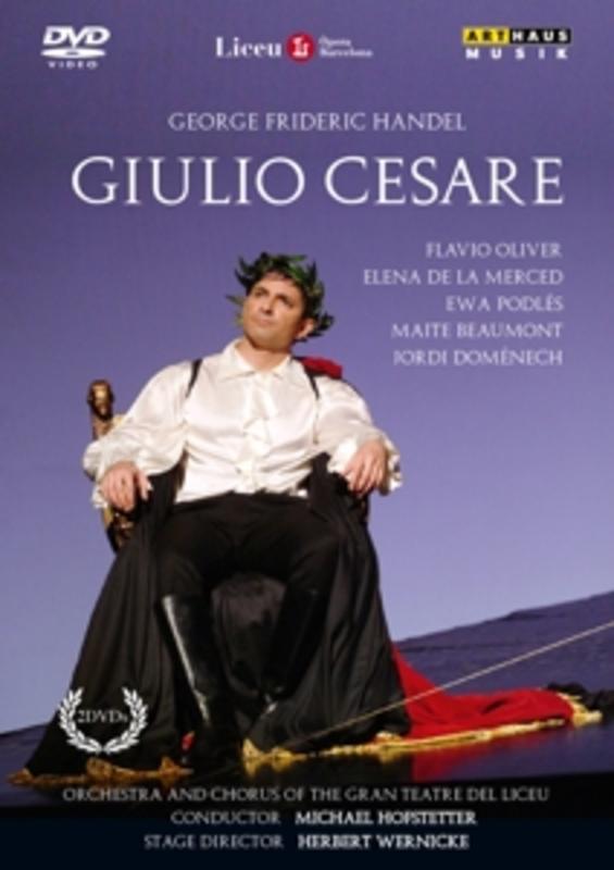 Oliver,La Merced,Podles,Beaumont - Giulio Cesare, Teatre Del Liceu 200, (DVD) TEATRE DEL LICEU 2004 // NTSC G.F. HANDEL, DVDNL
