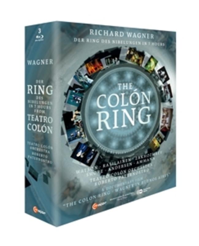 Watson,Rasilainen,Zakhozhaev - Der Ring Des Nibelungen In 7 Uur, B, (Blu-Ray) BUENOS AIRES 2012/ROBERTO PATERNOSTRO R. WAGNER, Blu-Ray