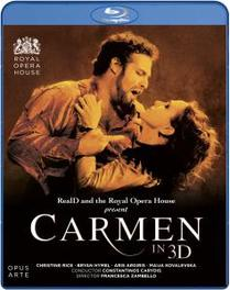 Rice/Hymel/The Royal Opera House - Carmen 3D, (Blu-Ray) ROYAL OPERA HOUSE COVENT GARDEN/CARYDIS/PRICE G. BIZET, Blu-Ray