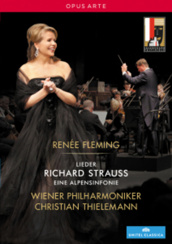 Fleming/Vienna Philharmonic - Ren,E Fleming In Concert, (DVD) WIENER P.O./CHRISTIAN THIELEMANN/NTSC/ALL REGIONS R. STRAUSS, DVD