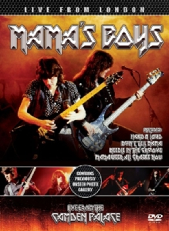 LIVE FROM LONDON MAMA'S BOYS, DVD
