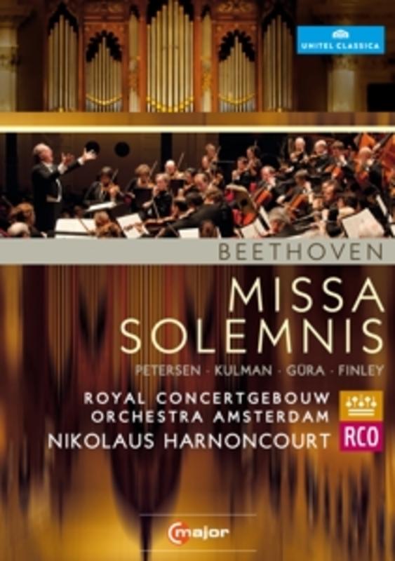 Petersen,Kulman,Gura - Missa Solemnis, Amsterdam 2012, (DVD) AMSTERDAM 2012 // ROYAL CONCERTGEBOUW ORCHESTRA L. VAN BEETHOVEN, DVDNL
