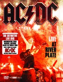 AC/DC - Live At River Plate (+ T-Shirt Maat L)