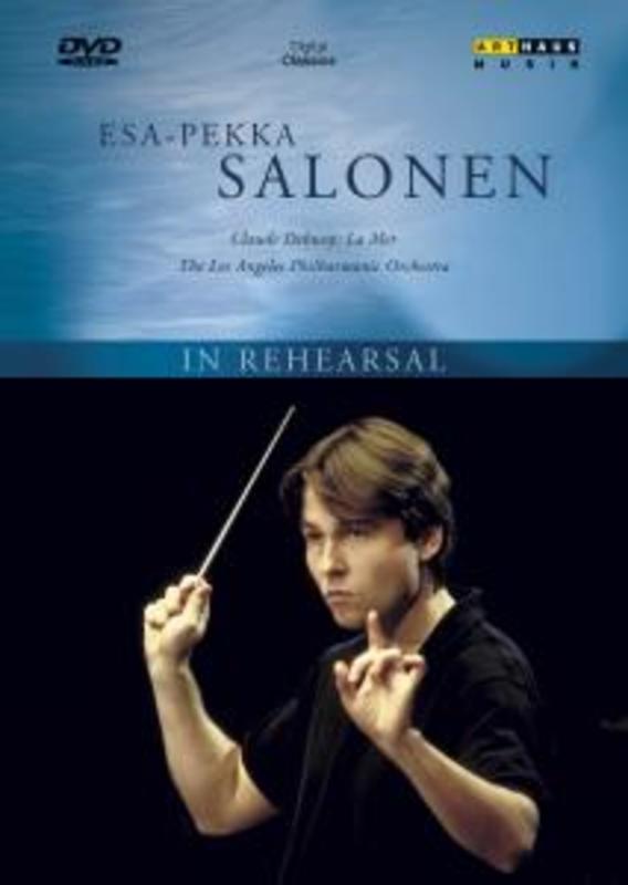 Esa-Pekka Salonen In Rehearsel