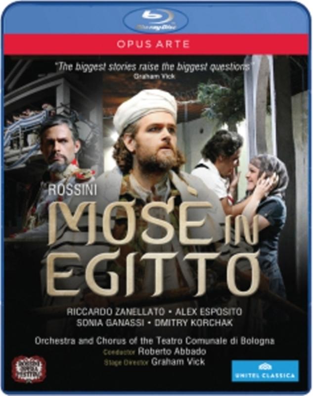 MOSE IN EGITTO ALL REGIONS // ESPOSITO/SENDERSKAYA G. ROSSINI, BLURAY