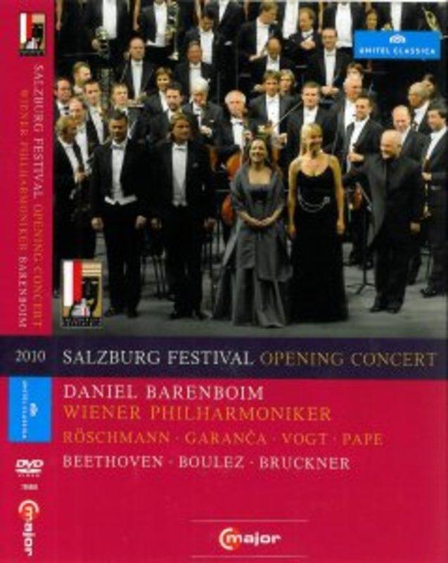 Wiener Philharmoniker,Garanca,Selig - Barenboim,Salzburg Fest 2010