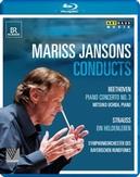 Symp Bayerischen Rundfunks Uchida - Mariss Jansons Dirigeert Beethoven,, (Blu-Ray) ALL REGIONS